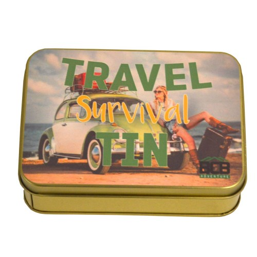 "Box ""Travel Survival Tin"""