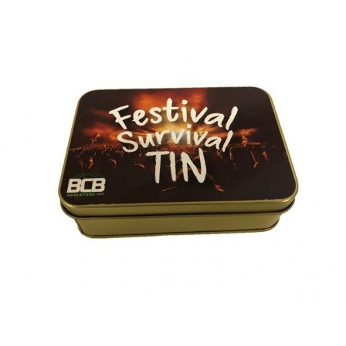 "Box""Festival Survival Tin"""