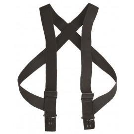 Bretelles pantalon noir