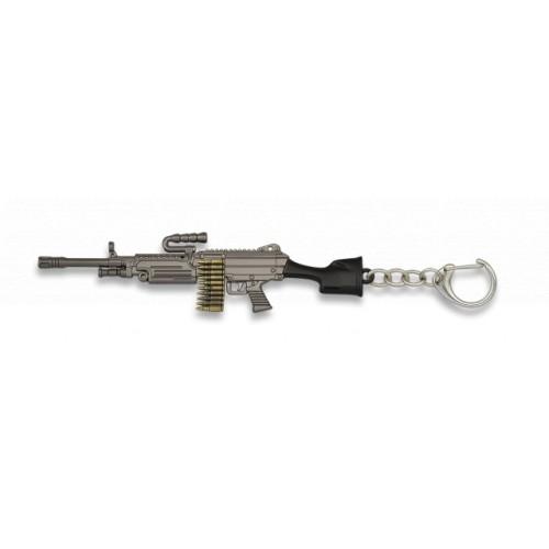 Porte-clés fusil, 12cm 09873