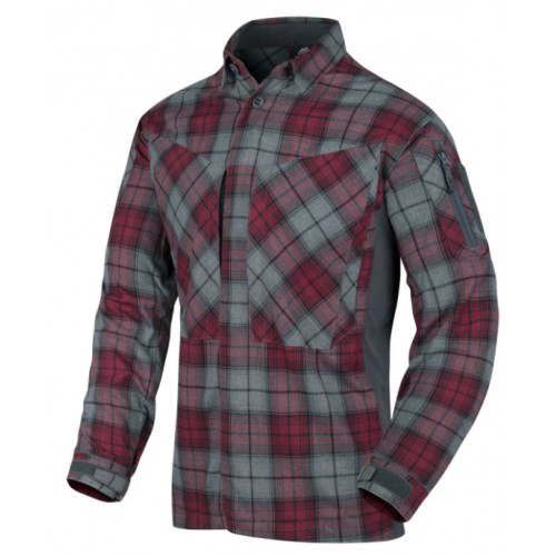 MBDU Flannel Shirt Ruby Plaid