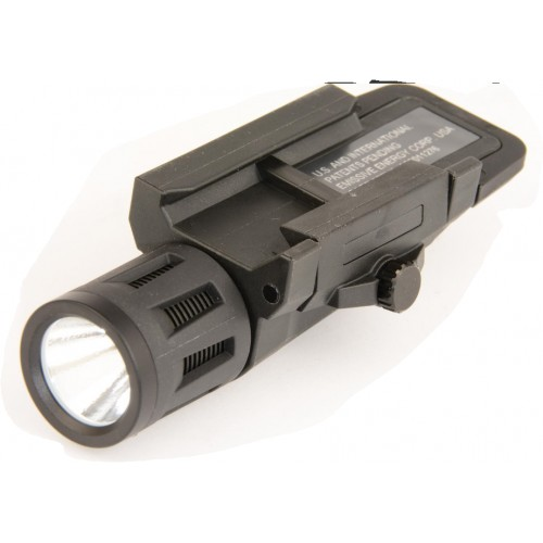 Weapon Mounted Ligt GEN-2 noir 400 Lumens