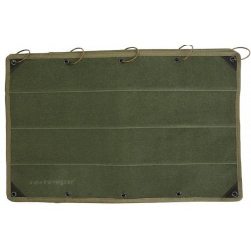 Tapis pour collection badges olive