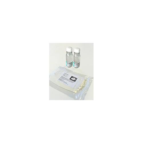 Kit waschbare Atemschutzmaske und Desinfekt.