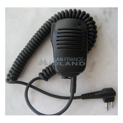 Mini mico haut parleur déporté pour talkie-walkie