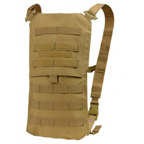 Porte sac Oasis avec sac d'hydratation 2.5l coyote