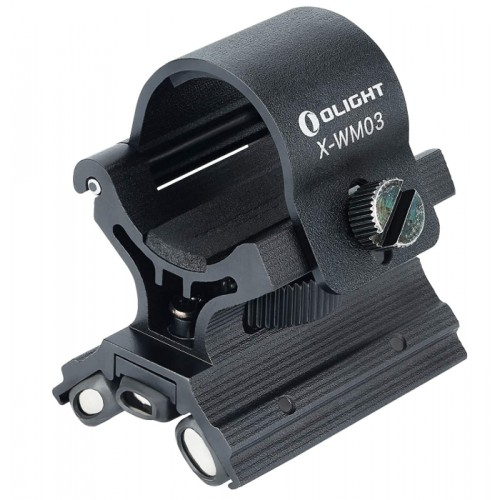 Magnetic flashlight mount X-WM03 Olight