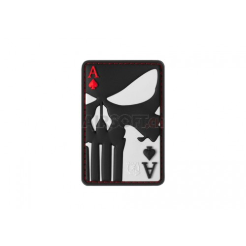 Patch Punisher Ace of Spades Rubber Patch color