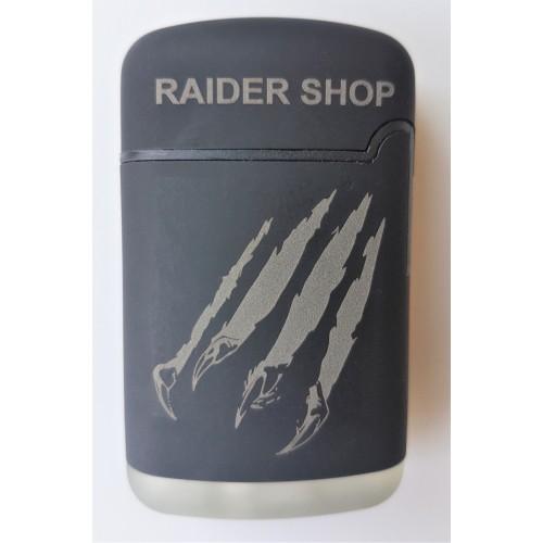 Briquet tempête gravure Raider-shop