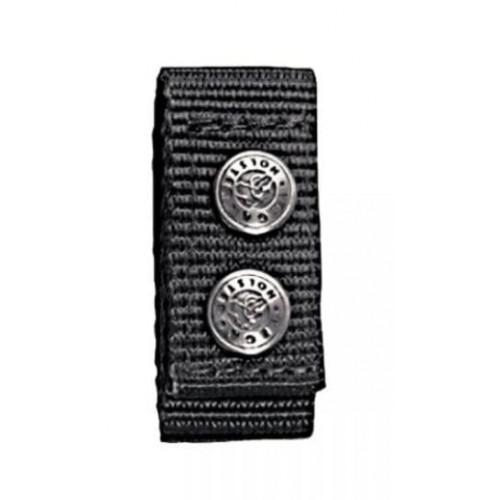Passant ceinture en nylon avec double pression