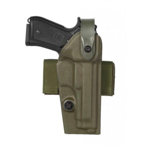 Holster Glock 17,22,31,37 noir gaucher