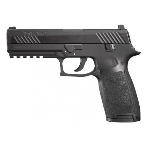 Pistolet à  plombs SIG SAUER P320 noir, 4.5mm