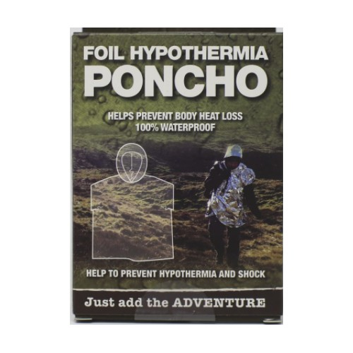 Emergency Poncho (Silver)