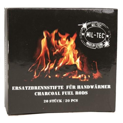 Sticks combustibles pour chaufferette 20 pcs