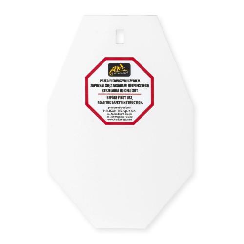 SRT SMALL ALPHA TARGET® - HARDOX 600 STEEL - WHITE