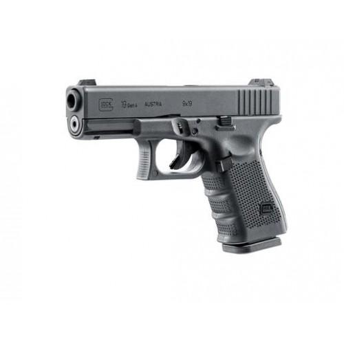 Réplique pistolet Glock 19 Gen 4 Metal Version GBB