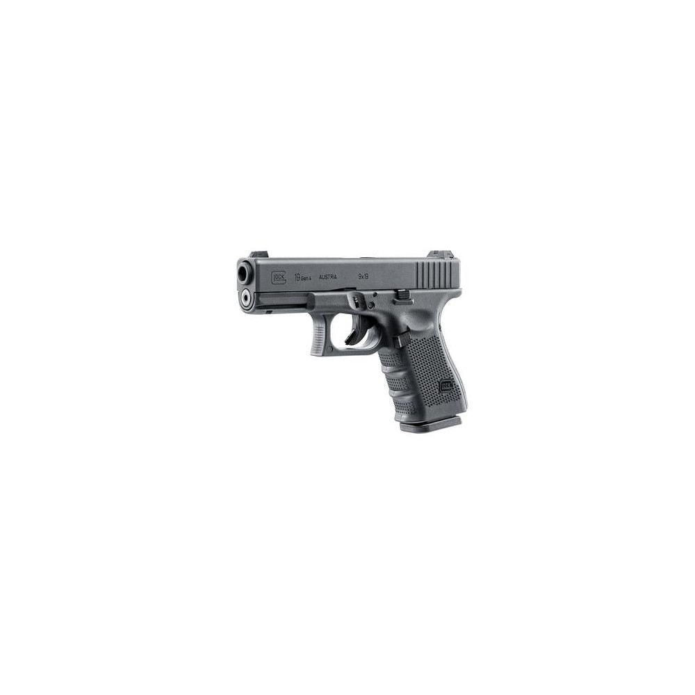 Réplique pistolet Glock 19 Gen 4 Metal Version GBB