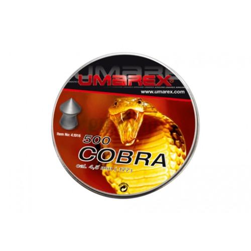 Boîte de plombs 4.5mm COBRA 0.56g (UMAREX)