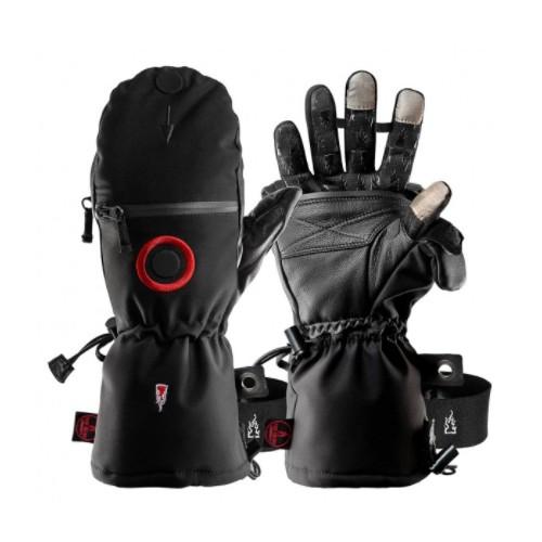 Heat 3 Gants moufles spécial force noir TXL