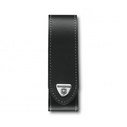 VICTORIONX  Etui-ceinture cuir 3.5 x 14cm noir