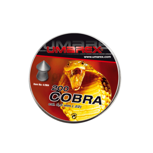Plombs 5.5mm Cobra Pointed Pellets 1.02g 200rds