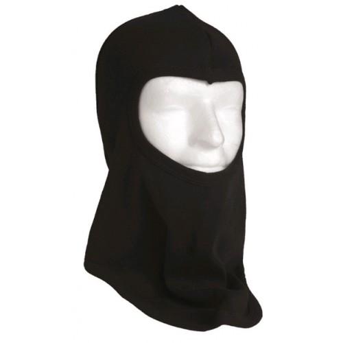 Cagoule coton panormique noire