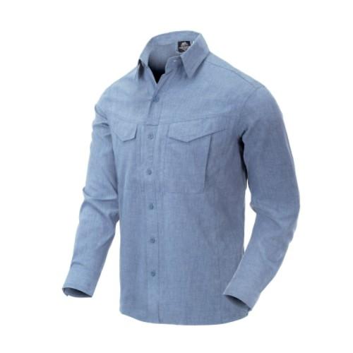 Chemise longues manches Def. Mk2  Light blue