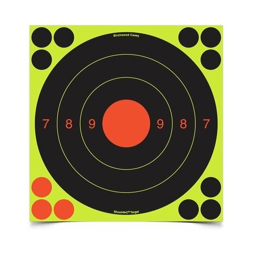 Cible de tir 20cm 25/50m (6 pièces)
